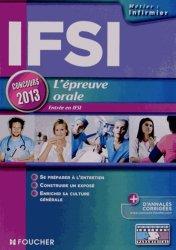 IFSI L'épreuve orale 2013