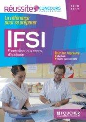 IFSI S'entraîner aux tests d'aptitude - Concours 2016