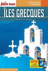 La couverture et les autres extraits de Petit Futé Cyclades. Edition 2018