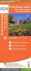 La couverture et les autres extraits de Paris Chantilly Fontainebleau. 1/100 000