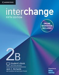Interchange Level 2 B - Student's Book with Online Self-Study and Online Workbook