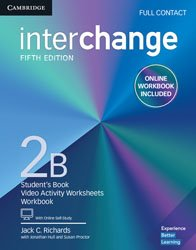Interchange Level 2 B - Full Contact with Online Self-Study and Online Workbook