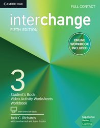Interchange Level 3 - Full Contact with Online Self-Study and Online Workbook