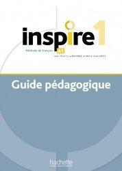 Inspire 1 : Guide pédagogique + audio (tests) téléchargeable