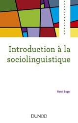 Introduction à la sociolinguistique