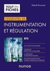 Instrumentation et régulation BTS