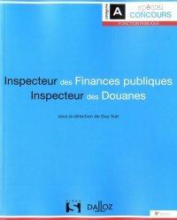 Inspecteur des finances publiques ; Inspecteur des douanes