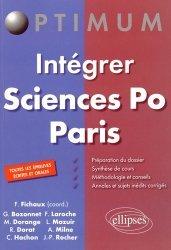 Intégrer Sciences-Po Paris