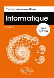 Informatique avec python 2eme annee prepa scientifique