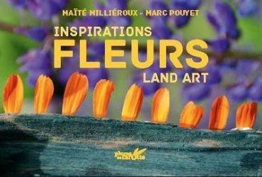 Inspiration land art fleurs
