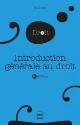 Introduction générale au droit. 8e édition