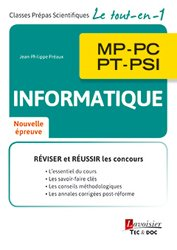 Informatique MP, PC, PT, PSI