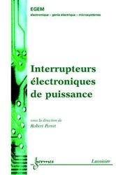 Interrupteurs électroniques de puissance