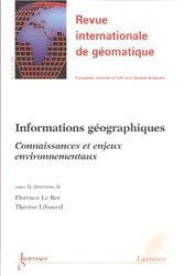 Informations géographiques Connaissances et enjeux environnementaux
