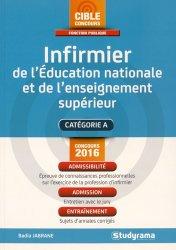 Infirmier de l'Education nationale et de l'enseignement supérieur