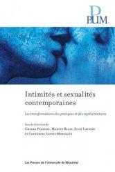 Intimites et sexualites contemporaines