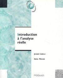 Introduction à l'analyse réelle