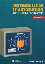 Instrumentation et automation dans le contrôle des procédés.