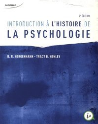 Introduction à l'histoire de la psychologie