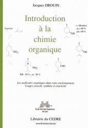 Introduction à la chimie organique