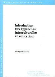 Introduction aux approches interculturelles en éducation