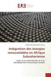 Intégration des énergies renouvelables en Afrique subsaharienne