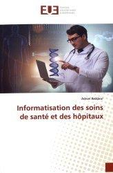Informatisation des soins de santé et des hôpitaux