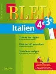 Italien 1re et 2e années 4e et 3e