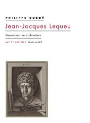 Jean-Jacques Lequeu. Dessinateur en architecture