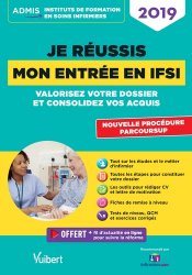 La couverture et les autres extraits de Réussir son entrée en IFSI 2020