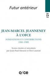 Jean-Marcel Jeanneney à l'OFCE