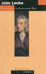John Locke. Le droit avant l'Etat