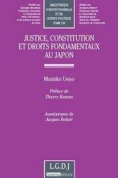 Justice, constitution et droits fondamendaux au Japon
