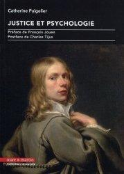 Justice et psychologie