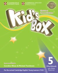 Kid's Box Level 5 - Workbook with Online Resources American English