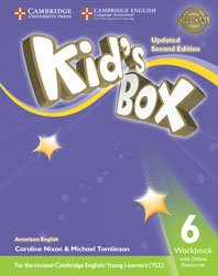 Kid's Box Level 6 - Workbook with Online Resources American English