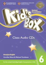 Kid's Box Level 6 - Class Audio CDs (4) American English