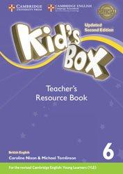 Kid's Box Level 6 - Teacher's Resource Book with Online Audio British English