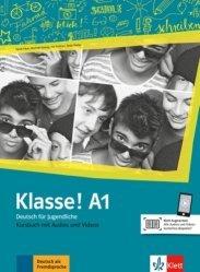 Klasse! A1. Livre de l'élève. Avec pistes audios + vidéos