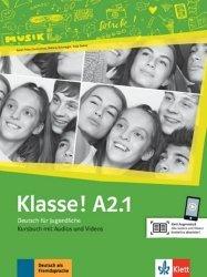 Klasse! A2.1. Livre de l'élève. Avec pistes audios + vidéos