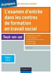 L'examen d'entrée dans les centres de formation en travail social