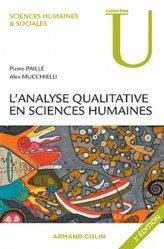 L'analyse qualitative en sciences humaines et sociales