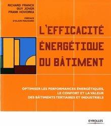 L'efficacité énergétique du bâtiment