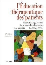 L'éducation thérapeutique des patients Nouvelles approches de la maladie chronique