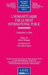 L'humanité saisie par le droit international public