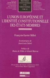 L'Union européenne et l'identité constitutionnelle des états membres