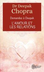 L'amour et les relations. Demandez à Deepak