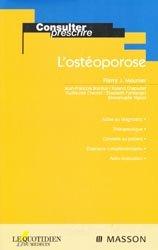 La couverture et les autres extraits de L'ostéoporose