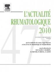 La couverture et les autres extraits de L'actualité rhumatologique 2012