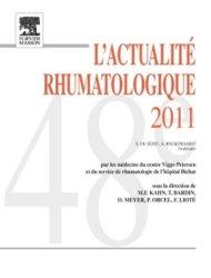 La couverture et les autres extraits de L'Actualité Rhumatologique 2013
